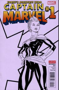 Captain Marvel #1 (2012 - 2nd Print Variant) - NM