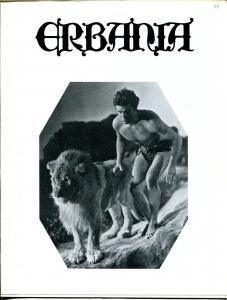 Erbania #59 1989 -Edgar Rice Burroughs-Tarzan-Buster Crabbe-Krenkel-info-pix- VG