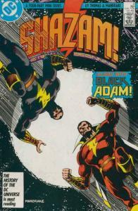 SHAZAM #2, FN+ Captain Marvel, Tom Mandrake, New Beginning, 1987