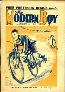 Modern Boy 12/7/1935-U.K. published-dime novel-bicycle cover-VG