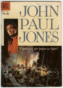 JOHN PAUL JONES (1959 DELL) F.C.1007 FR-G PHOTOCOVER COMICS BOOK
