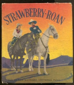 Strawberry-Roan #1090 1934-Ken Maynard Movie Edition-movie pix-hardcover variant