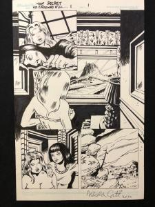 Secret of Crooked Hill #1 Page 1 Original Comic Art Nick Cuti