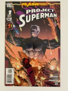 Flashpoint: Project Superman #1 in Near Mint condition. DC comics