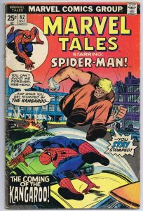 Marvel Tales #62 ORIGINAL Vintage 1975 Comics Spider-Man