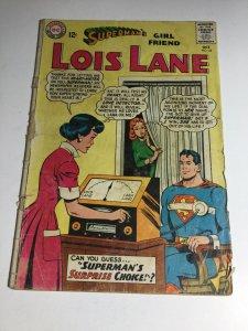 Superman's Girlfriend Lois Lane 44 Gd- Good- 1.8 DC Comics