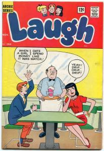 Laugh Comics #164 1964- Archie- Betty- Veronica DeCarlo Josie FN
