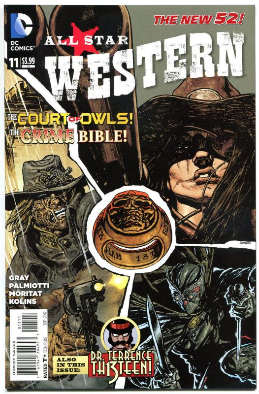 ALL STAR WESTERN #11, NM, Jonah Hex, Haunted Highwayman, 2011,more in store