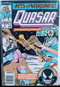Quasar #6 (1990) VENOM APPEARS!