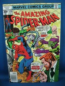 AMAZING SPIDERMAN 170 NM- GREEN GOBLIN 1977