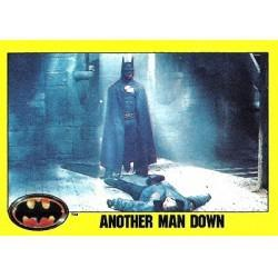1989 Batman The Movie Series 2 Topps ANOTHER MAN DOWN #194
