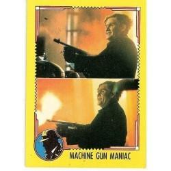 1990 Topps DICK TRACY-MACHINE GUN MANIAC #21
