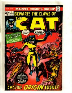 The Cat # 1 FN Marvel Comic Book Feat Tigra Defenders Iron Man Thor Avengers RS1