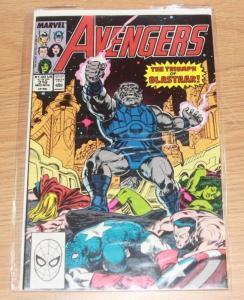 Avengers # 310 1989  Marvel blastaar - thor captain america  she hulk eternals