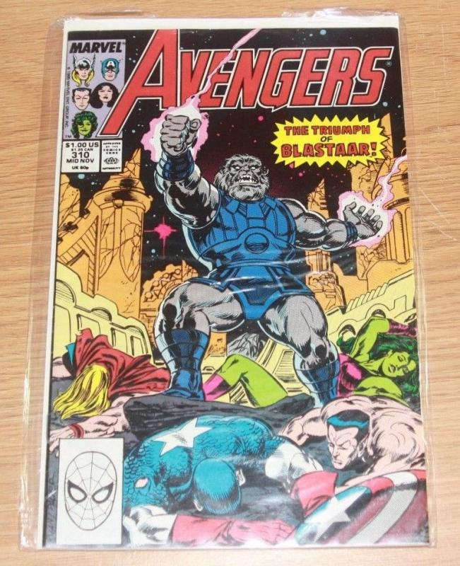 Avengers # 310 blastaar - thor captain america civil war bronze age marvel