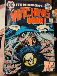 WITCHING HOUR #41 The Killer Eye! DC Comic Book ~ Fine