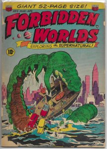 Forbidden Worlds   #  5 FR