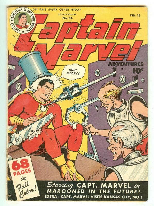Captain Marvel 54   Special Oversized 68 Page Issue