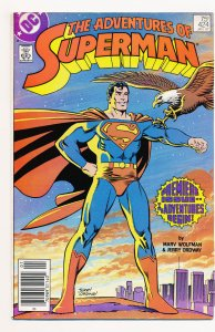 Adventures of Superman (1987) #424 FN, #425 VF Man O' War complete story arc