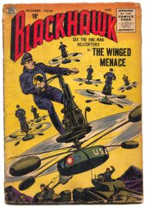 Blackhawk #107 1956-FINAL QUALITY ISSUE- Winged Menace F/G