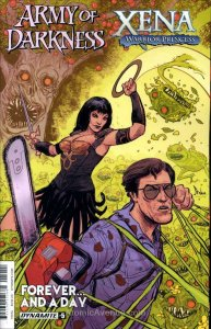 Army of Darkness/Xena: Warrior Princess Forever… And a Day #5A VF/NM; Dynamite |