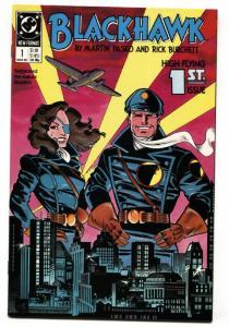 BLACKHAWK #1-1989-Pasko-Burchett-comic book DC NM-