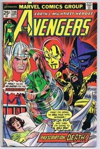 Avengers #139 ORIGINAL Vintage 1975 Marvel Comics