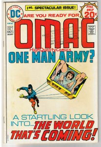OMAC #1, FN, Jack Kirby, One Man Army Corp, 1974,   (c), more JK in store