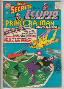 House of Secrets #76 (Feb-66) FN/VF Mid-High-Grade Eclipso, Prince Ra-Man