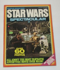 Famous Monsters Star Wars Spectacular 1977 Warren Magazine VF