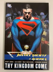 Justice Society of America Thy Kingdom Come Part 1 Hardcover 2008 Geoff Johns