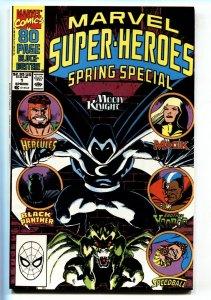 Marvel Super Heroes Spring Special #1 1990 Moon Knight comic book
