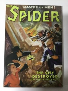 The Spider: The City Destroyer Nm Near Mint Pulp Reprint