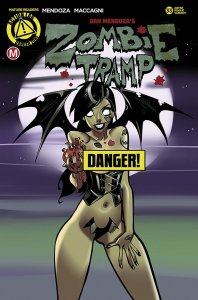 ZOMBIE TRAMP ONGOING #33 CVR F CELOR RISQUE (MR) VARIANT