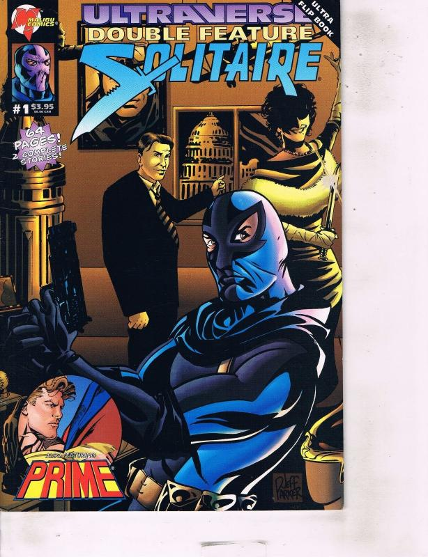Lot Of 6 Ultraverse Solitaire  Image Comic Book #1 1 11 11 12 12 AB7