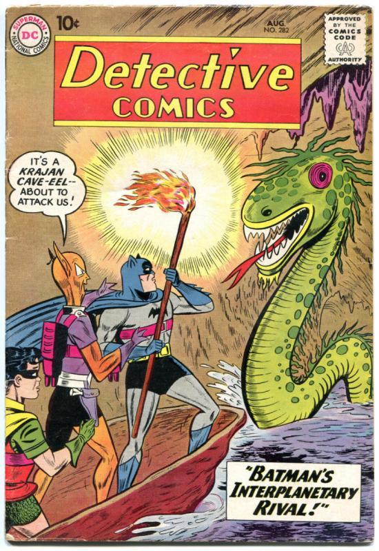 DETECTIVE COMICS #282, VG, Bob Kane, Caped Crusader, 1937 1960, more in store