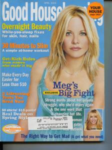 Good Housekeeping-Meg Ryan-People-Fashion-Beauty-April-2003