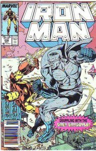 Iron Man # 236 Strict NM+ Appearance Grey Gargoyle