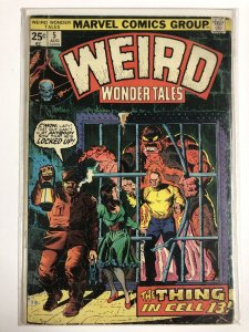 WEIRD WONDER TALES 5 GOOD August 1974 COMICS BOOK