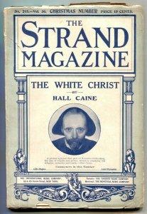 The Strand Magazine December 1908- WHITE CHRIST- Hall Caine