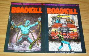 Roadkill #1-2 VF/NM complete series - roadkill studios - lighthouse comics set