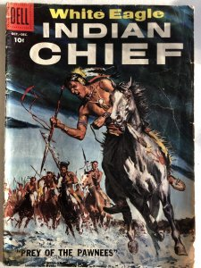 Indian Chief#28, VG, painted cover