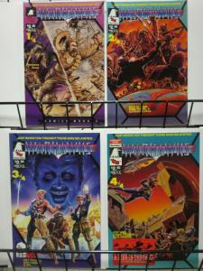 WARHAWKS (1990 TSR) 1-4 THE SET!