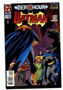 BATMAN #511 Zero Hour-Joker-Killing Joke-comic book
