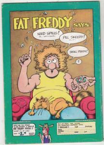 Fabulous Furry Freak Brothers #3 (Jan-80) FN High-Grade The Freak Brothers (P...