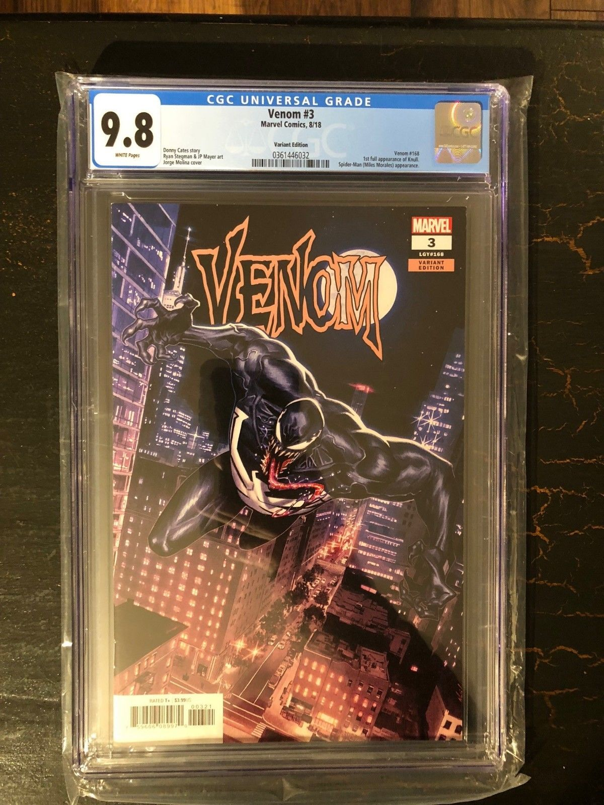 Venom #23 (#168) 2018 CGC 9 8 1st Full Appearance of Knull