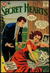 Secret Hearts #57 1959- DC Romance- Silver Age G/VG