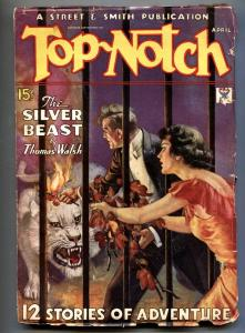 Top-Notch 4/1935-W. SOARE horror cover-Pulp Magazine