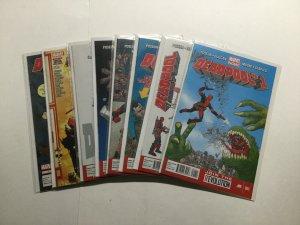Deadpool 1-5 1 2 3 4 5 8 13 (2013) Lot Run Set Near Mint Nm Marvel