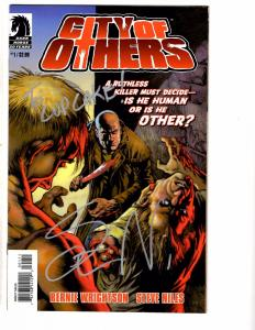 3 Comics City Of Others # 1 2 & # 1 Criminal Macabre ALL SIGNED Steve Niles  AB6